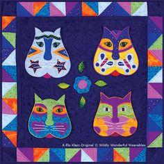 Gatos - Colorful Spanish Kitties: a Flo Klein original design