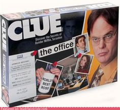 Never knwo when you need to play Clue in teh Office.