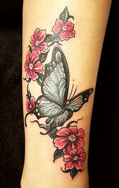 Beautiful and Fashionable Butterfly Tattoo Designs for Fashionistas