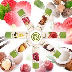 Hidrata de manera divertida tus labios este #verano con la Crema Labial de la línea Baume Lèvres.