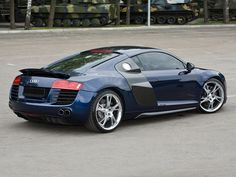 audi r8 | Audi R8 Blue photos