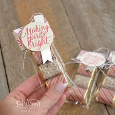Stampin' Dolce: Candy Cane Lane Party Decor - Fancy Friday September Hop