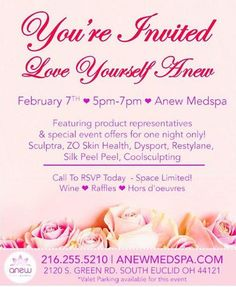 You won't want to miss this party#ANEWYOU#botox#party#fillers#specials