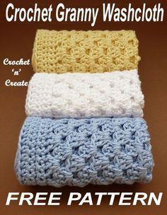 Crochet Granny Washcloth - Washcloth - Ideas of Washcloth - Crochet this washcloth in easy granny stitch free crochet pattern. Granny Square Häkelanleitung, Granny Square Crochet Pattern, Crochet Granny, Easy Crochet, Free Crochet, Granny Squares, Crochet Dishcloths Free Patterns, Tutorial Crochet, Crochet Tutorials