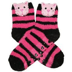 RSG Girls & Women's Animal Non Skid Slipper Socks (Stripes Kitty) RSG http://www.amazon.com/dp/B00H30DAW0/ref=cm_sw_r_pi_dp_9qhcwb1FE9207