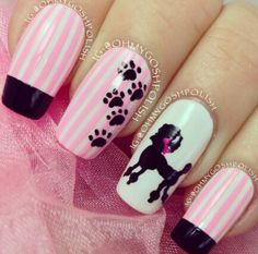 i would never get these, but there cute cause of the poodle :)