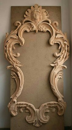 Unique Wood Carving Furniture for Your Home Decoration. Before entering the discussion I will provide an explanation of the benefits that are obtained when a person makes the . Wood Carving Art, Wood Art, Molduras Vintage, Carving Designs, Wood Sculpture, Interior Design Living Room, Wood Crafts, Wood Projects, Picture Frames