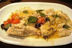 Receta de filetes de perca en salsa - Como hacer perca en salsa - Como preparar perca - Pesce persico alle erbe - Perch fisch in sauce