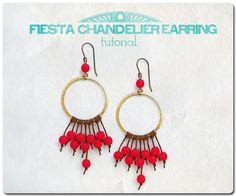 Erin Siegel Jewelry: Fiesta Chandelier Earring TUTORIAL