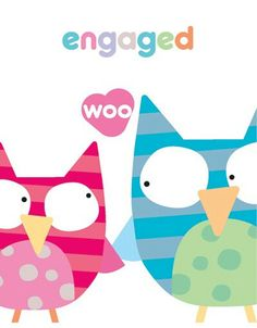 Engaged owls