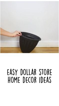 Diy Home Projects Easy, Diy House Projects, Diy Furniture Projects, Diy Crafts For Home Decor, Diy Crafts Hacks, Easy Home Decor, Dollar Tree Decor, Dollar Tree Crafts, Store Hacks