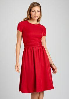 Ellen Tracy ruby dress