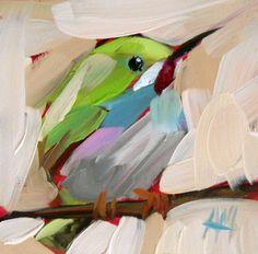Pedrito Ave Nº 3 Art Print por Angela Moulton 4 x por prattcreekart