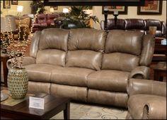 Catnapper Leather Reclining sofa