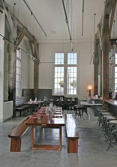 Russell Jackson's Lafitte, named after the pirate, is a handsome 135-seat industrial space directly on the Embarcadero.