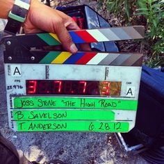 """On Set of Joss' music video """"The High Road"""""""