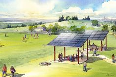 """Love solar power but got no rooftop? """"Shared solar"""" is coming for you."""