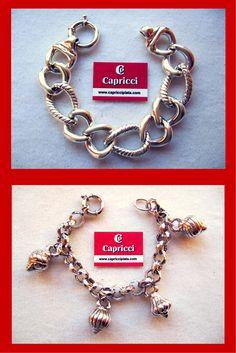 Pulseras de plata 925m. Las puedes encontrar en www.capricciplata.com www.facebook.com/...  #joyas #plata #silver #pulseras #regalos #complementos #capricciplata #fashion #tendencia #blackfriday #moda #fashion #shoppingonline
