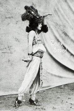 Circus performer Zelda Boden c. 1910s/1920s