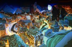 Pepperkakebyen, The Gingerbread city of Bergen by andrea.magugliani, via Flickr