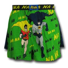 Batman 66 Running Duo Boxer Shorts. These are cool and go so well with our grouping of 66 T-shirt Designs! jackofalltradesclothing.com