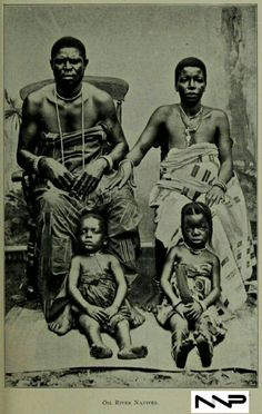 #PeopleOfNigeria | 19th century | People of the Oil Rivers in Nigeria | Source: West African studies : with additional chapters byKingsley, Mary Henrietta 1862-1900 Published 1901| in Nigerian Nostalgia Project Nigerian Culture, African Artwork, African Tribes, My Roots, 19th Century, Nostalgia, Statue, Black And White, Traditional Outfits