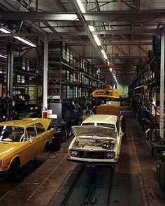 Volvo 140-Series assembly line | by Auto Clasico