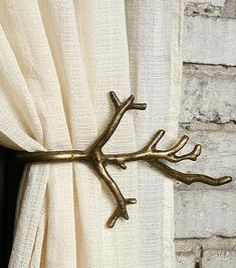 Branch Curtain Tie-Back $9.99  at Ooh La Loft www.oohlaloft.com
