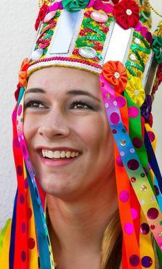"""Dona Deusa  Personagem do Reisado """"Baile Estrela"""" que é formado por jovens e crianças e que trata de um grande resgate cultural no município de Moita Bonita-SE."""