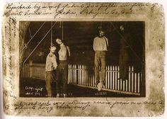 """The Unknown History of Latino Lynchings  Research on Latino lynchings is new. This is a summary of a Harvard Civil Rights-Civil Liberties Law Review article that draws a direct line form 19th and early 20th century Latino lynchings to today's movements to suppress Spanish and force immigrants to assimilate.  Mexican men were lynched for acting """"too Mexican,"""" and """"Mexican women may also been lynched if they resisted the sexual advances of Anglo men."""" A Fascinating, enraging read."""