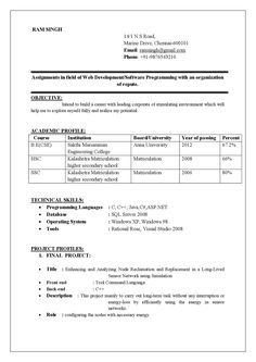 stunning achievements in resume for freshers example contemporary