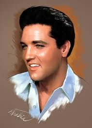 Elvis Presley, Image result for Shahin: Portraits de Stars