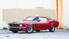 1970 Ford Mustang Boss 302 Fastback 302 CI, 4-Speed presented as lot T228 at Kissimmee, FL 2015 - image1
