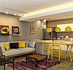 Ideias inovadoras de salas integradas para você se inspirar Mistic Falls, Couch, Furniture, Home Decor, Commercial Real Estate, Innovative Ideas, Renting, Houses, Settee