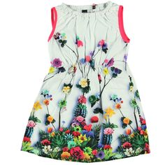 girl flowers dress // vestido de flores para niña