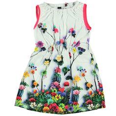girl flowers dress // vestido de flores para niña