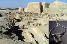 dilmun - Ancient digs in shadow of Portuguese Fort in Manama Bahrain
