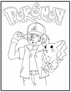 Pokemon Coloring Pages - Disney Coloring Pages