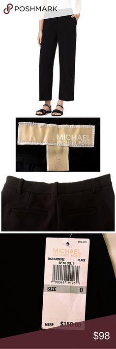 Selling this Labor Day Sale! Michael Kors Black Trousers on Poshmark! My username is: nperalez. #shopmycloset #poshmark #fashion #shopping #style #forsale #MICHAEL Michael Kors #Pants