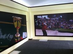 Job: Sept 2013 PGA Presidents Cup Golf Tournament out at Muirfield Village.  Inside the Memorial Club