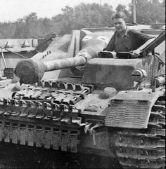 Close up details shown on this StuG 4