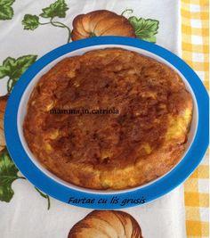 """Fartae cu lis grusis"", la ricetta di Elisabetta del blog ""Mamma in carri..ola!"" http://mammaincarriola.blogspot.it/2014/07/fartae-cu-lis-grusis.html"