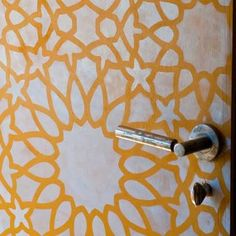 Furniture Stencil Moroccan Intricate Zelij | Royal Design Studio