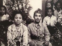 Pengantin Revolusi , Bung Tomo dan Sulistina, 19 Juni 1947. (IPPHOS - Antara Foto).