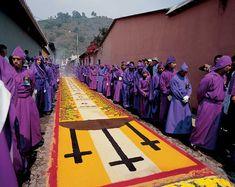 Holy Week Catholic procession - photo INGUAT - Antigua - Maya Expeditions
