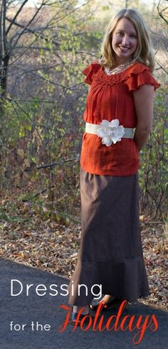 Dressing modestly for the Holidays: The spirit behind modesty and some fun tips and tricks!