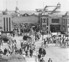 Clacton Pier 1950s
