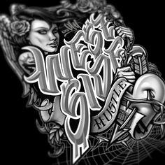 #ogabel Chicano Art Tattoos, Chicano Lettering, Gangsta Tattoos, Body Art Tattoos, Graffiti Drawing, Graffiti Art, Art Drawings, Thrasher, Westside Tattoo