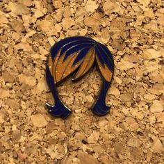 The Rebel Painter- Hard Enamel Pin – Lantern Pins Star Wars Jacket, Glitter Highlight, Orange Glitter, Hard Enamel Pin, Her Hair, Rebel, Detail, Purple, Lantern