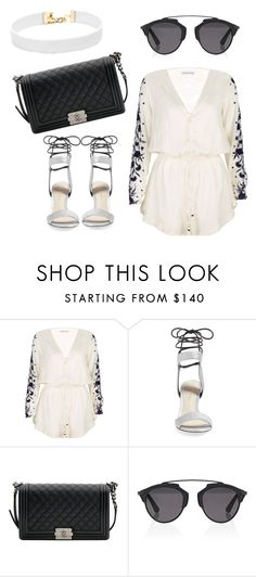 """Untitled #290"" by sylvia-aylin on Polyvore featuring Pampelone, 3.1 Phillip Lim, Chanel, Christian Dior and Vanessa Mooney"